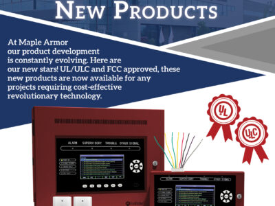 fire alarm devices Ul/ULC and FCC approved